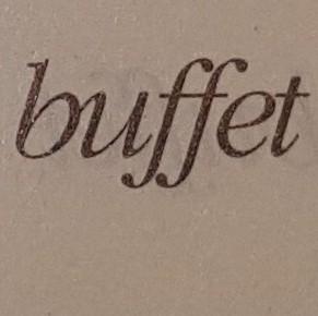 Buffet (2005)